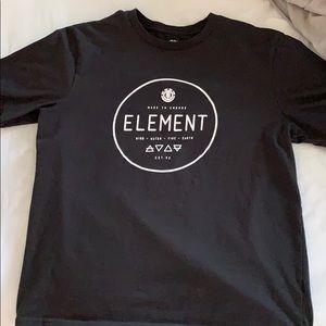 men's black short sleeve tee-shirt